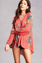 Forever 21 RD & Koko Floral Tunic