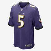 Nike NFL Baltimore Ravens American Football Game Jersey (Joe Flacco)