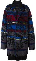 Sibling 'Basquiat' Fair Isle coat