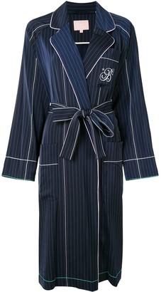 BAPY BY *A BATHING APE® Striped Wrap-Style Jacket