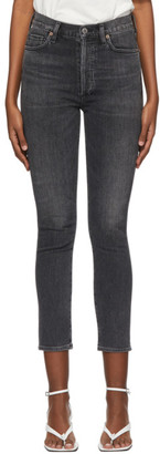 Citizens of Humanity Grey Olivia Slim Jeans