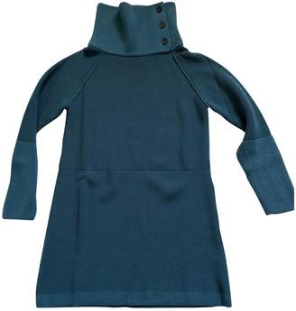 Chloé Turquoise Wool Dresses