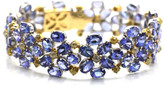 Tresor Collection - Tanzanite & Color Diamond Bracelet in 18kt Yellow Gold