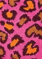 Paul Smith Women's Pink Leopard Pattern Socks