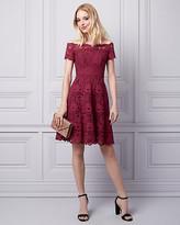 Le Château Lace Off-the-Shoulder Dress