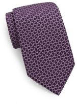 Valentino Interlocked Silk Tie