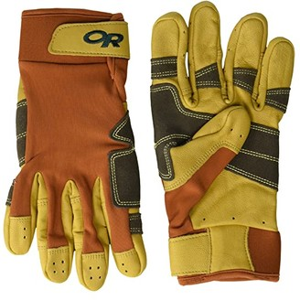 Outdoor Research Direct Route Gloves (Umber/Natural) Extreme Cold Weather Gloves