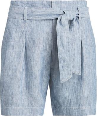 Ralph Lauren Chambray Paperbag Short
