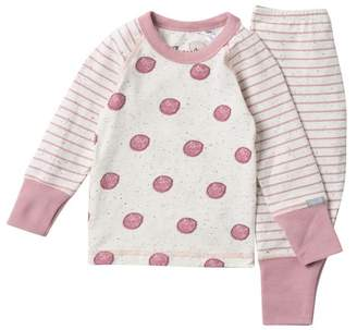 Coccoli Stripe Sleeve Top & Pant Set (Baby)