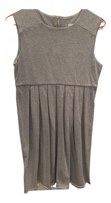Masscob Grey Cotton Dresses
