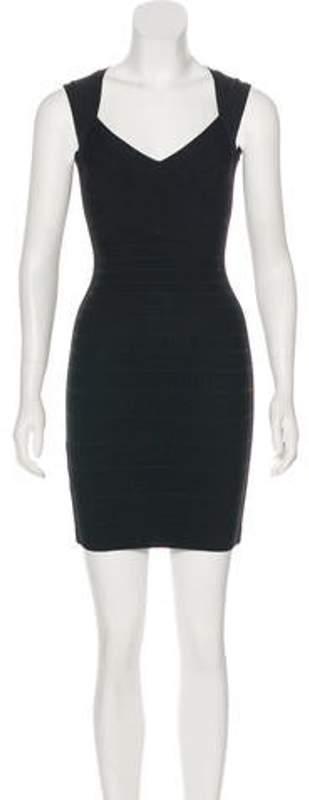 Herve Leger Sarai Bandage Dress Black Sarai Bandage Dress