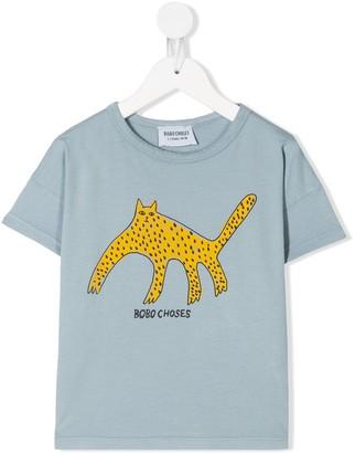 Bobo Choses Cat print T-shirt
