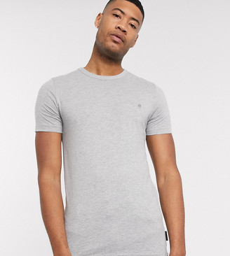 French Connection Essentials Tall t-shirt in gray