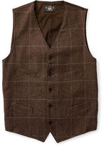 Ralph Lauren RRL Windowpane Wool-Blend Vest
