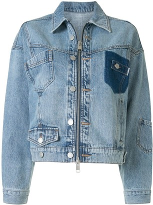 PortsPURE Light Wash Denim Jacket