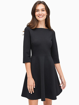 Kate Spade Boat Neck Ponte Dress