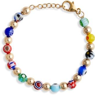 Millefiori Beck Jewels Tile Bead Bracelet