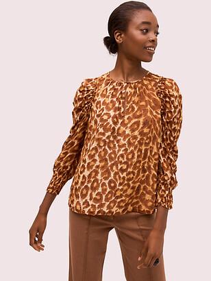 Kate Spade Panthera Chiffon Blouse