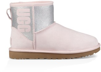 UGG Classic Mini Sparkle Ankle Boots