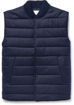 Officine Generale Quilted Wool-Blend Gilet