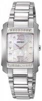 Seiko Women's SRZ365 Silver Stainless-Steel Quartz Watch with Dial