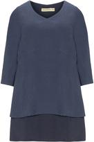 Isolde Roth Plus Size Layered tunic