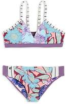 Maaji Girls' Gorgonita Spell Reversible 2-Piece Swimsuit - Big Kid