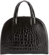 Oscar de la Renta Crocodile Handbag