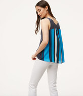 LOFT Stripe Back Sweater Tank