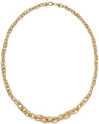 Saks Fifth Avenue Made In Italy 14K Yellow Gold Interlock Twist Chain Necklace