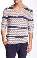 Antony Morato Chevron Knit Sweater