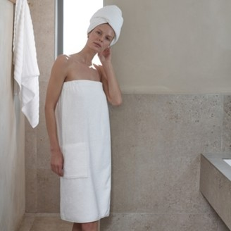 The White Company Spa Towel, White, Extra Large
