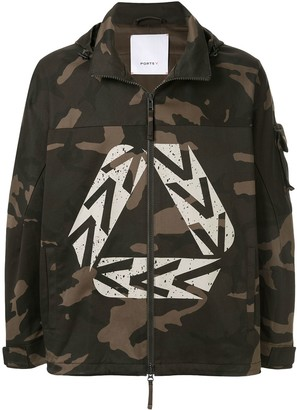 Ports V Camouflage Hooded Jacket
