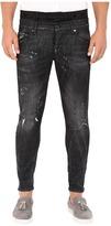 DSQUARED2 Uniform Outrage Wash Mixed Jeans in Black Men's Jeans