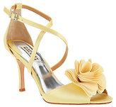 Badgley Mischka Strappy Flower Evening Sandals- Gaby