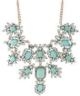 Charlotte Russe Gemstone & Diamante Bib Necklace