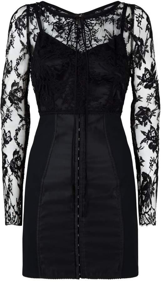 2d4667917a20 Dolce & Gabbana Sheer Lace Dresses - ShopStyle