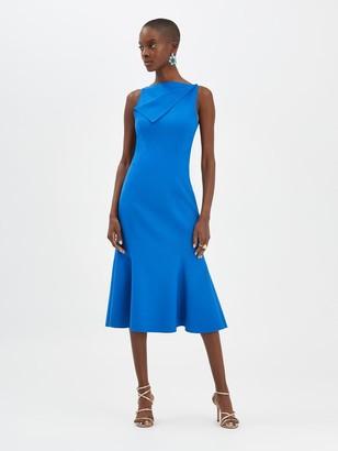 Oscar de la Renta Flared Dress