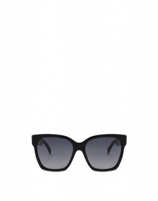 Moschino Metal Studs Acetate Sunglasses Woman Black Size Single Size