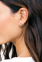 Gorjana Kelsi CZ Accented Teardrop Ear Jacket