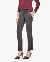 Ann Taylor The Petite Ankle Pant in Doublecloth - Kate Fit
