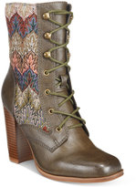 DOLCE by Mojo Moxy Firebird Lace-Up Booties