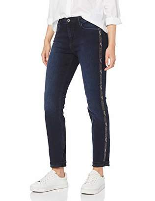 Brax Women's Shakira Galloon Snake Free To Move Five Pocket Skinny Sportiv Skinny Skinny Jeans