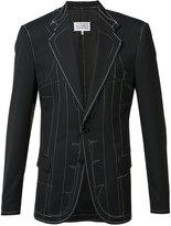 Maison Margiela sketch blazer jacket - men - Viscose/Wool/Polyimide/other fibers - 46