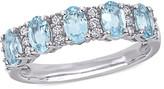 Thumbnail for your product : Rina Limor Fine Jewelry 14K 1.41 Ct. Tw. Diamond & Aquamarine Ring