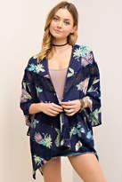 Entro Tropical Print Kimono