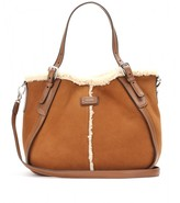 Tod's NEW G-LINE SMALL SHEARLING TOTE