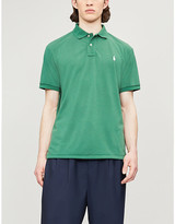 Polo Ralph Lauren Earth Polo Logo-embroidered cotton-piqué polo shirt