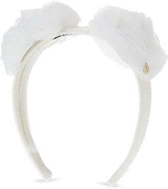 Maison Michel Yosh Roses hairband