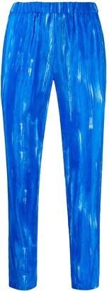 Christian Wijnants Perun Azur Strokes trousers